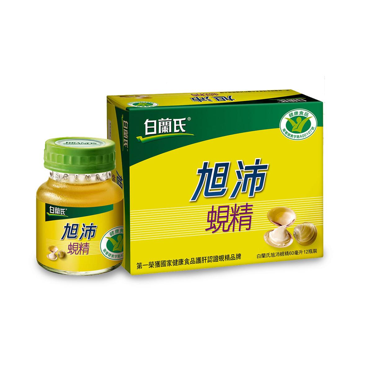 【國家護肝認證】旭沛蜆精 60ml6入裝-肝醣含量市售最高 有效補充活力不爆肝!
